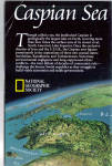 Click here to enlarge image and see more about item ma0020: Caspian Sea Nat Geo Map ma0020