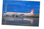 Czech Airlines IL-18 Airline Postcard