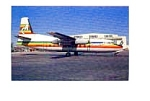 Connect Air F-27J Airline Postcard mar1354