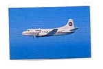 PBA Martin 404 Airline Postcard