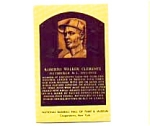 Click here to enlarge image and see more about item mar1367: Roberto Clemente Hall of Fame Postcard mar1367
