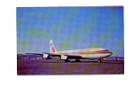 Aeroamerica 707 Airline Postcard mar1461