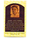 Click here to enlarge image and see more about item mar1551: Lou Gehrig Hall of Fame  Postcard