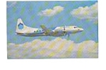 Aspen Airways CV 580  Airline Postcard mar1555