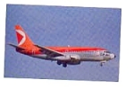 CP Air 737 Airline Postcard mar1566