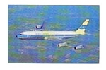 Kuwait Airways 707 Airline Postcard mar1651