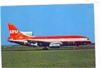 LTU L-1011-500 Airline Postcard mar1656