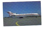 Turkish Airlines 727 Airline Postcard mar1662