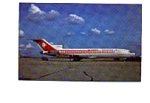 Air Algerie 727 Airline Postcard mar2154