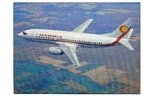 Sunworld 737 Airline Postcard mar2159