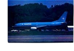 Maersk 737 Airline Postcard mar2161