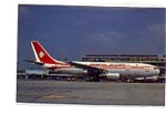 Air Algerie A300 Airline Postcard mar2167