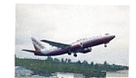 Air Berlin 737 Airline Postcard mar3053
