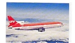 LTU L-1011 Tristar Airline Postcard mar3059