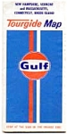 Click here to enlarge image and see more about item mar3111: Gulf Oil Map,1973,NH VT MA CR RI