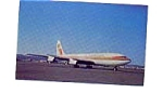 Aeroamerica 707 Airline Postcard mar3158