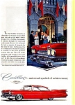 Click here to enlarge image and see more about item may0253: 1959 Cadillac Hardtop Ad at Broadmoor may0253