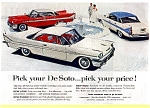 Click here to enlarge image and see more about item may0255: 1958 DeSoto Full Line Ad