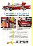 Click here to enlarge image and see more about item may0256: 1959 Chrysler Hardtop Ad may0256