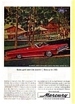 Click here to enlarge image and see more about item may0257: 1966 Mercury Convertible Ad