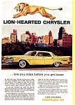 Click here to enlarge image and see more about item may0258: 1959 Chrysler New Yorker Hardtop Ad may0258