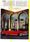 Click here to enlarge image and see more about item may0260: 1957 Cadillac Convertible Ad