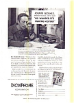 Click here to enlarge image and see more about item may0460: Dictaphone Norman Rockwell  Ad