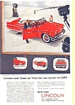 Click here to enlarge image and see more about item may04611: 1955 Lincoln Hardtop Ad Ed Sullivan may04611