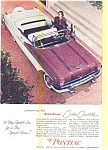 Click here to enlarge image and see more about item may0464: 1956 Pontiac Star Chief Convertible  Ad may0464