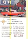Click here to enlarge image and see more about item may0468: 1957 Lincoln Premiere Hardtop Ad may0468