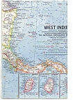 Click here to enlarge image and see more about item may1052: West Indies Map 1962