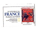 Click here to enlarge image and see more about item may1053: Historical France  Map1989