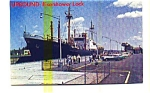 Eisenhower Lock St Lawrence Seaway Postcard may3202