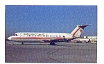 Atlantic Gulf BAC-111 Airline Postcard may3217