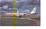 Florida West  707 Airline Postcard may3241