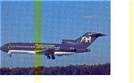 Pacific Interstate 727 Airline Postcard may3248