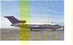 Transjet 727 Airline Postcard may3250