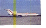 Key Air 727 Airline Postcard may3255