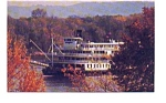 Delta Queen Steamboat with Autumn Leaves may3308