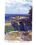 Lovers Leap Rock City TN Postcard may3334