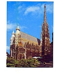 Click here to enlarge image and see more about item may3340: Vienna St Stephen's Cathedral Postcard