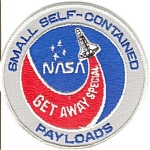 Click here to enlarge image and see more about item 6783: Small Payloads NASA Space Patch