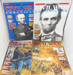 Click here to enlarge image and see more about item M0010: Civil War Chronicles Lot of 4 Vintage Magazines M0010
