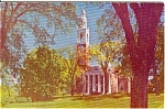 Click here to enlarge image and see more about item n0016: Ira Allen Chapel University Vermont Postcard