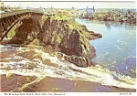 Click here to enlarge image and see more about item n0035: Reversing Falls Rapids Canada Postcard n0035