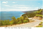 Click here to enlarge image and see more about item n0038: Cabot Trail Nova Scotia Canada Postcard n0038