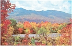 Click here to enlarge image and see more about item n0057: Kancamagus Highway NH Fall Color Postcard n0057