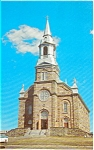 St Peters Church Cape Breton NS   Postcard n0069