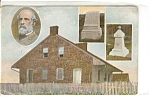 Click here to enlarge image and see more about item n0078: General Lee's Headquarters Postcard