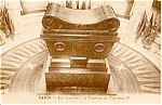 Click here to enlarge image and see more about item n0082: Napolean s Tomb Paris France Postcard n0082